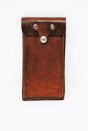Porta cellulare da cintura chiuso con patta AC 23