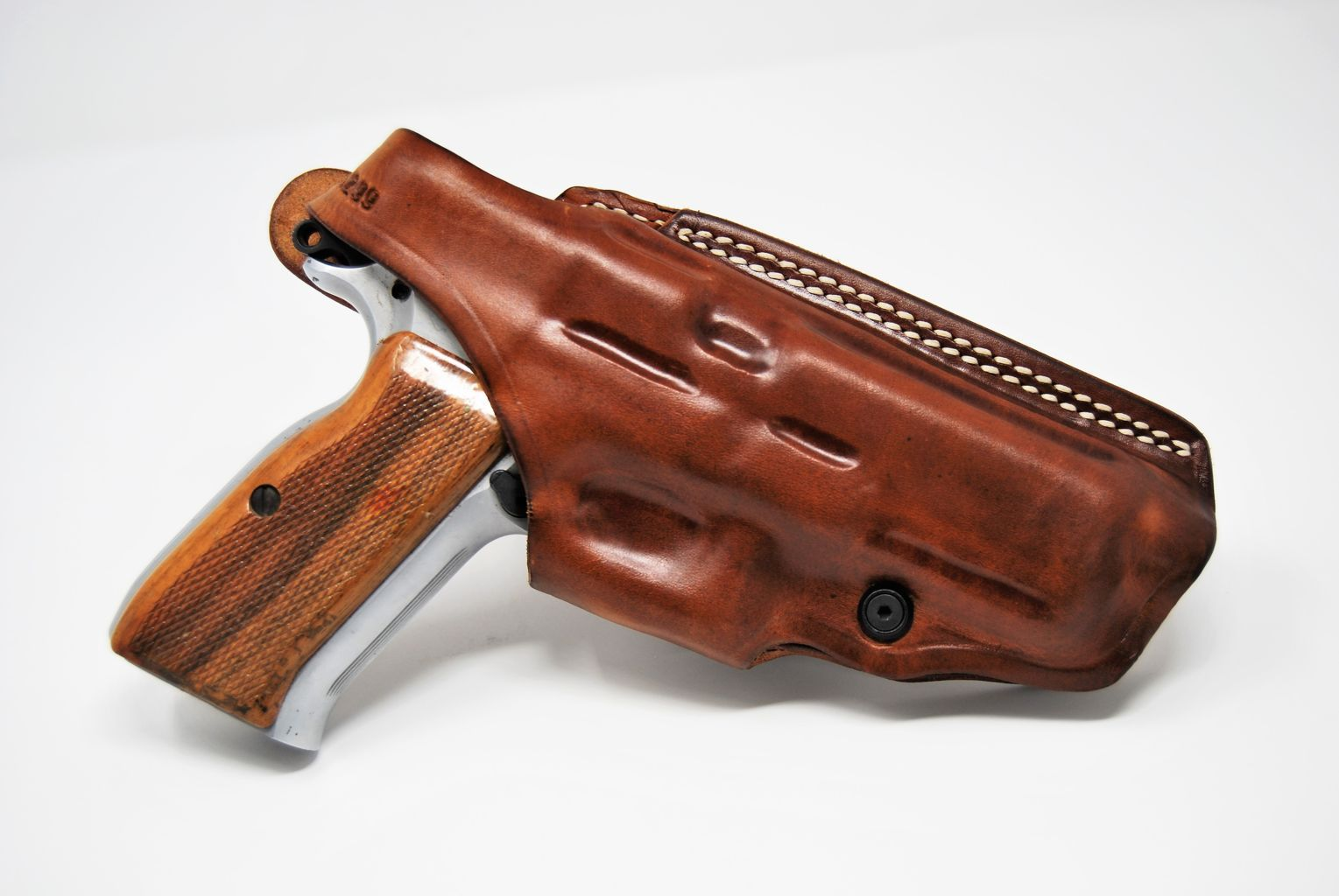 Fondina in cuoio per Glock 17/22/31; SIG SAUER P220/225/226/228/229 FD16 SA299